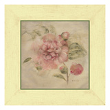 Dusty Pink Rose Prints by Cheri Blum