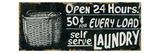 Vintage Sign II Premium gicléedruk van Alain Pelletier