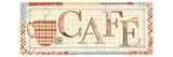 Patchwork Cafe I Premium Giclee Print by  Pela