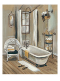 French Bath II Reproduction giclée Premium par Silvia Vassileva