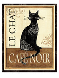 Le Chat Premium Giclee Print by Veronique Charron
