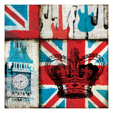 British Rock I Posters by Mo Mullan