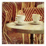 Parsian Cafe III Giclee Print by Wild Apple Photography