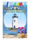 Martha's Vineyard - Montage Scenes Posters by  Lantern Press