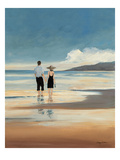 A Day at the Sea Giclee Print by Avery Tillmon