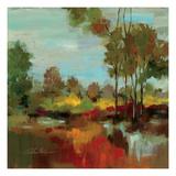 Hidden Pond Hues II Giclee-tryk i høj kvalitet af Silvia Vassileva