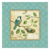 Birds Home I Kunstdrucke von Daphne Brissonnet