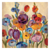 Garden Hues I Premium Giclee Print by Silvia Vassileva