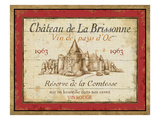 French Wine Labels I Premium Giclee Print by Daphne Brissonnet