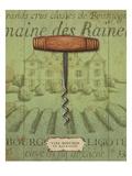 Antique Corkscrew I Green Premium Giclee Print by Daphne Brissonnet