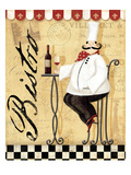 Chef's Break  I Premium Giclee Print by Veronique Charron