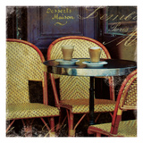 Parisian Cafe I Posters by Wild Apple Photography