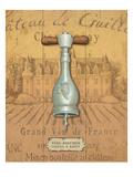Antique Corkscrew IV Yellow Premium Giclee Print by Daphne Brissonnet