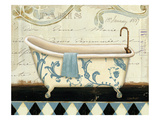 Marche de Fleurs Bath I Giclee Print by Lisa Audit