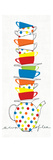Stacks of Cups I Premium Giclee Print by Avery Tillmon