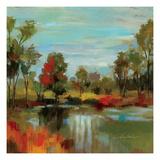 Hidden Pond Hues I Giclee-tryk i høj kvalitet af Silvia Vassileva