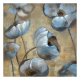 Flowers in Dusk I Posters by Silvia Vassileva
