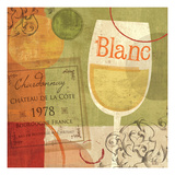 Cheers! Blanc Giclee Print by Veronique Charron