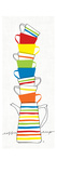 Stacks of Cups II Giclee Print by Avery Tillmon