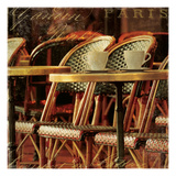 Parisian Cafe IV Giclee Print by Wild Apple Photography
