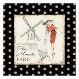 Ladies in Paris III Print by Avery Tillmon