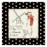 Ladies in Paris III Giclee Print by Avery Tillmon