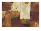 Geometric Spice I Premium Giclee Print by Mo Mullan