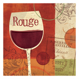Cheers! Rouge Giclee Print by Veronique Charron