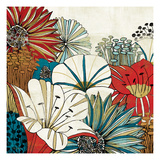 Contemporary Garden I Poster by Mo Mullan