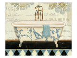 Marche de Fleurs Bath II Giclee Print by Lisa Audit