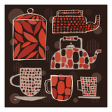 Spotted Kitchen II Giclee Print by Mo Mullan