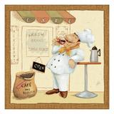 Chef's Market IV Reproduction procédé giclée par Daphne Brissonnet