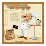 Chef's Market IV Giclee Print by Daphne Brissonnet