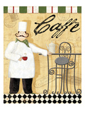 Chef's Break III Giclee Print by Veronique Charron
