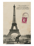 Paris 1900 Giclee Print by Wild Apple Portfolio
