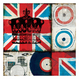 British Rock II Giclee Print by Mo Mullan
