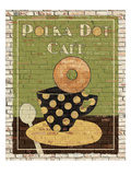 Polka Dot Café Giclee Print by Avery Tillmon