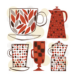Spotted Kitchen I Giclee Print by Mo Mullan