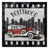 Hollywood Poster by Hugo Wild