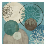 Flora Mood I Giclee Print by Veronique Charron