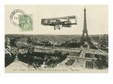 Aeroplane de Paris Posters par Hugo Wild
