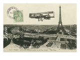 Aeroplane de Paris Giclee Print by Wild Apple Portfolio