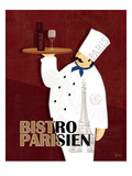 Chef du Monde II Giclee Print by Veronique Charron