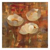 Trio de fleursII Reproduction procédé giclée par Silvia Vassileva