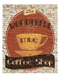 Wonderful Coffee Shop Giclée-Premiumdruck von Avery Tillmon