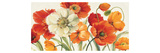 Poppies Melody I Giclee Print by Lisa Audit