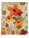 Vibrant Embroidery III Premium Giclee Print by Silvia Vassileva