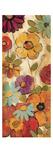 Floral Sketches on Linen I Premium Giclee Print by Silvia Vassileva