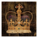 His Majesty's Crown Giclee Print by Avery Tillmon
