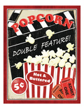 At the Movies I Premium Giclee Print by Veronique Charron